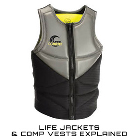 Life Jackets & Comp Vests Explained